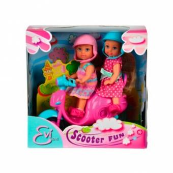 Куклы Эви Веселое путешествие на скутере