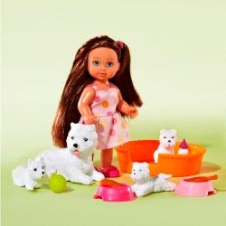 Кукла Эви с животными