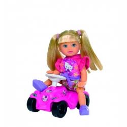 Кукла Эви Hello Kitty на машине