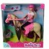 Кукла Штеффи на лошади