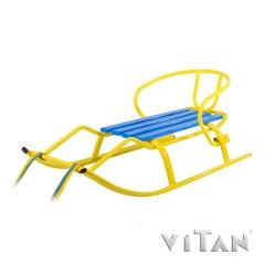 Санки Спорт Ф1 (желтый)